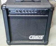 Crate GX-15R Electric Guitar Amplifier w/Reverb- 15 watt combo amp in Morris, Illinois