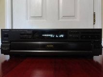 VINTAGE 1992 TECHNICS SL-PD825 FIVE COMPACT DISC CHANGER PLAYER in Travis AFB, California