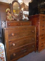 lovely wood dresser in Bartlett, Illinois