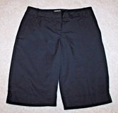 Women's IZOD FXG Cool FX Black Active Wear Bermuda Shorts, Sz 8 in Lockport, Illinois