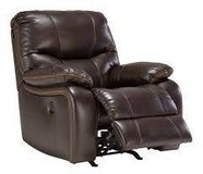 brown faux leather rocker recliner in Pearl Harbor, Hawaii