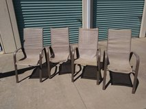 4 used lawn chairs in Roseville, California
