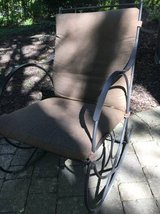 ~high quality carolina forge wrought iron rocker~ in Glendale Heights, Illinois