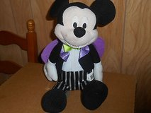 "Animated Mickey Mouse Vampire Plush Toy - 15""  ;  HALLOWEEN in Bellaire, Texas"