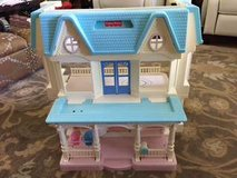 dollhouse fisher-price loving family folding dream doll house 6364 in Lancaster, Pennsylvania