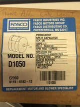 Fasco D1050 5.0-inch dia. Condenser Fan Motor, 1/8 hp, 230v, 1550 rpm, 1 speed in Perry, Georgia