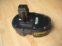 used dw9099 18v battery pack, dewalt power tools drill/saw. charge does not last in Naperville, Illinois