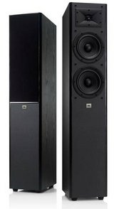 jbl arena 180 black 2-way dual 7-inch floorstanding loudspeaker (black in Naperville, Illinois