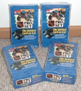 NEW Pro Set 1990 NHL Hockey Series 1 Photo Stat Trading Cards 36 Packs in Morris, Illinois