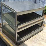 hatco commercial 2 shelf stainless heated display in Beaufort, South Carolina