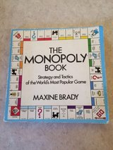 RARE Vintage 1975 The MONOPOLY Book ~ Strategy & Tactics of the Board Game in Joliet, Illinois