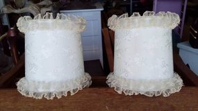 Pair 1960's Lampshades in Plainfield, Illinois