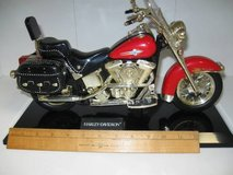: Collection of  model motorcycles(very cool) in Morris, Illinois