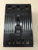GE Circuit Breaker THQD32200 200 amp 3 pole 3 phase 240 volt in Warner Robins, Georgia