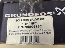 Grundfos 96806132 Isolation Valve Kit ***new in box*** in Warner Robins, Georgia