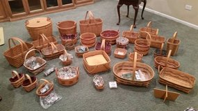 Longaberger Baskets- All kinds - Pick what you like - Make Offer in Bolingbrook, Illinois