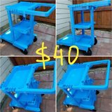 Rubbermaid utility service tool cart in Bellaire, Texas