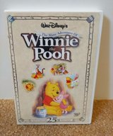 Disney's The Many Adventures of Winnie The Pooh DVD Collector's 25th Anniversary Edition. in Morris, Illinois
