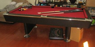 Slate Pool Table + Accessories - LOCATED in BOLINGBROOK in Joliet, Illinois