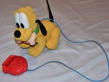 Mattel Disney Walk Wag Baby Pluto Remote Control Walks Barks Wags Tail in Westmont, Illinois