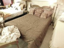 Queen Size Bed With Headboard in Fort Riley, Kansas