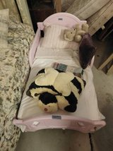 Pink Toddler Bed With Mattress in Fort Riley, Kansas