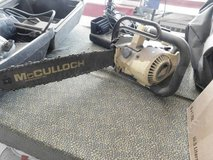 McCulloch Chain Saw in Fort Riley, Kansas
