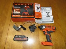 BLACK+DECKER 20-Volt Max Lithium Impact Driver in Fort Benning, Georgia