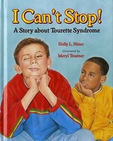 I Cant Stop A Story About Tourettes Syndrome Hard Cover Book in Plainfield, Illinois