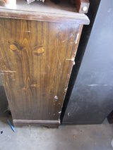 vintage 4 drawer dark wood stand up dresser bedroom clothes 90176 in Huntington Beach, California