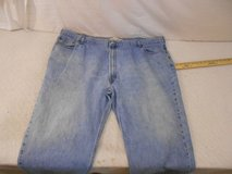 mens men 52x29 52 x 29 levis levi strauss 550 relaxed fit blue jeans 00005 in Huntington Beach, California