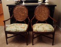 2 Floral Arm Chairs (Pair) in Plainfield, Illinois