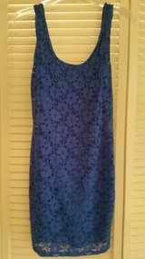 Junior stretchy size small royal blue sleeveless dress in Temecula, California