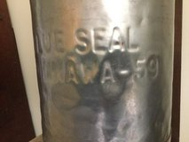 Blue Seal Milk can Okinawa 1959   - used USA  bases Camp Butler in Okinawa, Japan