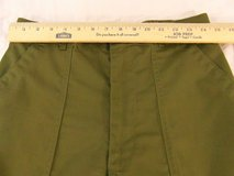 new old stock mens cotton polyester durable press og 507 32 x 31 green trousers  00239 in Huntington Beach, California