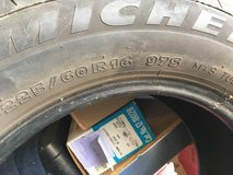 "Michelin ""X Radial"" 225/60/16 used tire in Fort Rucker, Alabama"