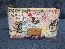 disney dooney & bourke sketch  cosmetic case *new/nwt* in Bartlett, Illinois