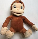 """Curious George TICKLE & GIGGLE Laughing Shaking 12"""" Plush Monkey 2005 in Bolingbrook, Illinois"""