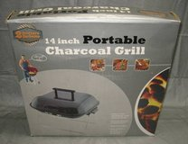 2 BROTHERS 14 Inch Portable Charcoal Grill - NEW in Joliet, Illinois