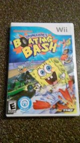 Wii SPONGEBOB'S BOATING BASH GAME in Lockport, Illinois