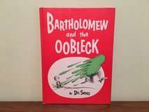 RARE Vintage 1976 Dr Seuss Bartholomew And The Oobleck Hard Cover Book in Morris, Illinois