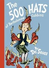 RARE Vintage 1965 Dr Seuss The 500 Hats of Bartholomew Cubbins Hard Cover Book in Plainfield, Illinois