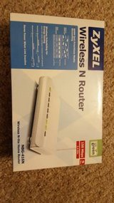 ZyXEL Wireless N WiFi Router New in Box in Batavia, Illinois