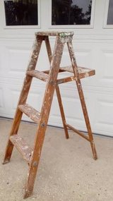 Wooden Ladder in New Lenox, Illinois