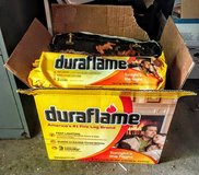 9 Duraflame fireplace logs in Aurora, Illinois