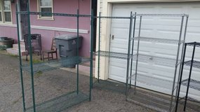 Several Steel Wire Shelf Racks in Fairfield, California
