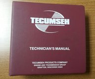 Tecumseh Engines Technician's Master Service Manual Set in Naperville, Illinois