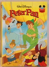 Walt Disney's Peter Pan Disney's Wonderful World of Reading Hardcover Book 1993 in Plainfield, Illinois