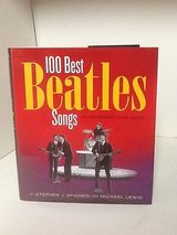 100 Best Beatles Songs - Hardcover Book w Dust Jacket in Shorewood, Illinois