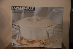 Christmas Gift? FARBERWARE CANDLELIGHT SERVE WARE - NEW IN BOX  JUST REDUCED! in Warner Robins, Georgia